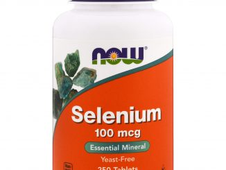 Selenium, Yeast Free, 100 mcg, 250 Tablets (Now Foods)