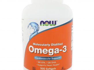 Omega-3, 180 EPA/120 DHA, 500 Softgels (Now Foods)