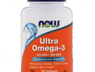 Ultra Omega-3, 500 EPA/250 DHA, 90 Softgels (Now Foods)