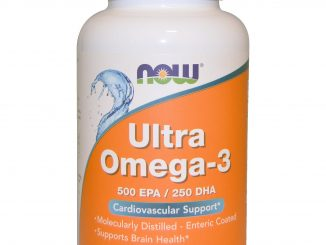 Ultra Omega-3, 500 EPA/250 DHA, 180 Softgels (Now Foods)
