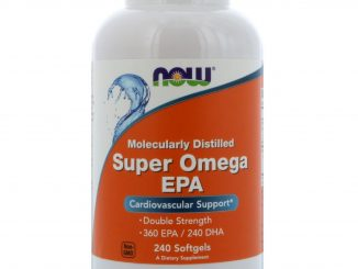 Super Omega EPA, Molecularly Distilled, 240 Softgels (Now Foods)