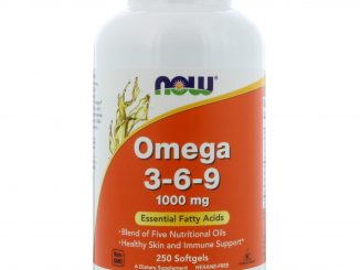 Omega 3-6-9, 1000 mg, 250 Softgels (Now Foods)
