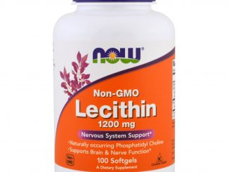 Lecithin, 1200 mg, 100 Softgels (Now Foods)