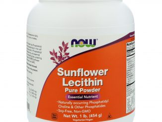 Sunflower Lecithin, Pure Powder, 1 lb (454 g) (Now Foods)