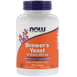 Brewer's Yeast, 200 Tablets (Now Foods)