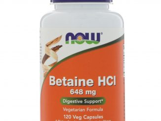 Betaine HCL, 648 mg, 120 Veggie Caps (Now Foods)