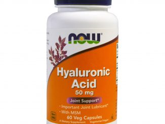 Hyaluronic Acid, 50 mg, 60 Veg Capsules (Now Foods)
