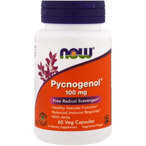 Pycnogenol, 100 mg, 60 Veg Capsules (Now Foods)