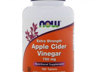 Apple Cider Vinegar, Extra Strength, 750 mg, 180 Tablets (Now Foods)