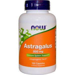 Astragalus, 500 mg, 100 Capsules (Now Foods)