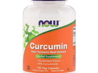 Curcumin, 120 Veg Capsules (Now Foods)