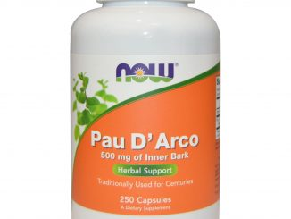 Pau D' Arco, 500 mg, 250 Capsules (Now Foods)