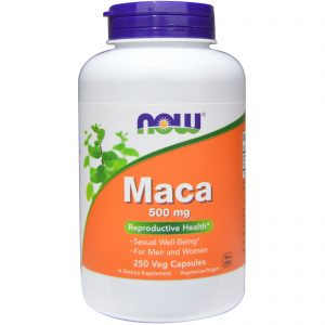Maca, 500 mg, 250 Veg Capsules (Now Foods)