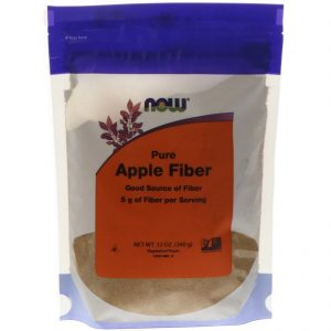 Pure Apple Fiber, 12 oz (340 g) (Now Foods)