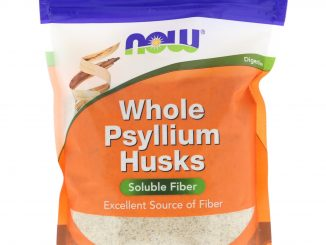 Whole Psyllium Husks, 16 oz (454 g) (Now Foods)