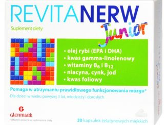 Revitanerw Junior, kapsułki żelatynowe miękkie, 30 szt. / (A&d Pharma Poland)