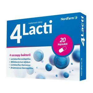 4Lacti, kapsułki, 20 szt. / (Nord Farm)