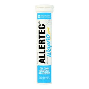Allertec Wapno Plus, tabletki musujące, 20 szt. / (Polpharma)