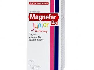Magnefar B6 Junior, syrop, 120 ml / (Biofarm)