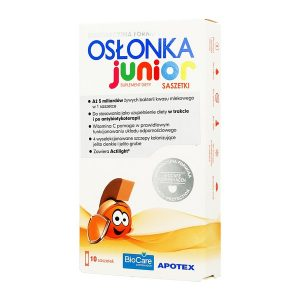 Osłonka Junior, 1 g, proszek, 10 saszetek / (Apotex)