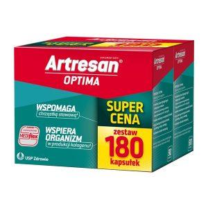 Artresan Optima, kapsułki, 180 szt. (90 szt. x 2 opakowania) / (Usp Zdrowie)