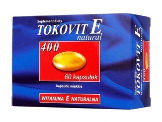 Tokovit E 400 natural, kapsułki miękkie, 60 szt. / (Hasco-lek)
