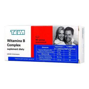Witamina B Complex, tabletki drażowane, 60 szt. / (Teva)
