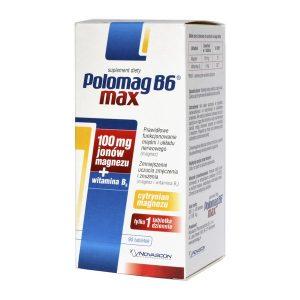 Polomag B6 Max, tabletki, 90 szt. / (Novascon Pharmaceuticals)