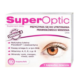 SuperOptic, kapsułki elastyczne, 60 szt. / (Medana)