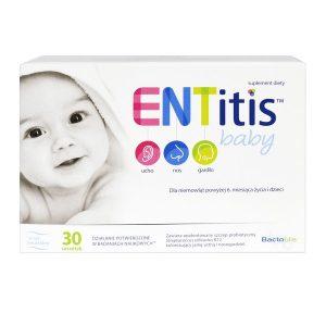 ENTitis Baby, proszek do rozpuszczania w saszetkach, smak neutralny, 30 szt. / (Polski Lek)