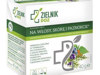 Na włosy skórę i paznokcie, herbatka ziołowa, 2 g, 20 sasz. / (Doz)
