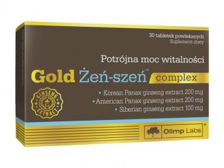 Olimp Gold Żeń-szeń complex, tabletki powlekane, 30 szt. / (Olimp Laboratories)