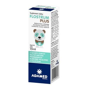 Flostrum Plus, krople, 15 ml / (Adamed)