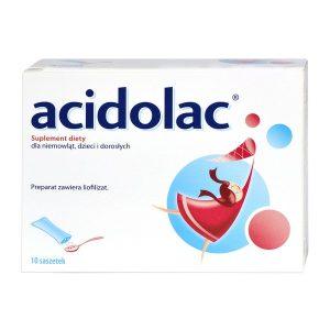 Acidolac, liofilizat doustny, 3 g, 10 saszetek / (Polpharma)