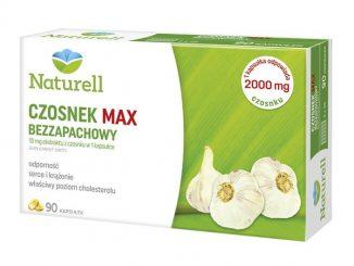 Naturell Czosnek Max Bezzapachowy, kapsułki, 90 szt. / (Naturell)