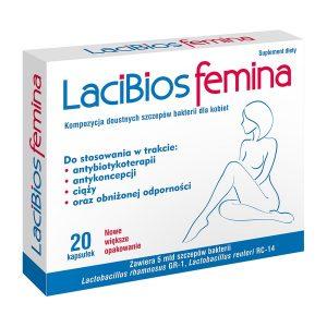 Lacibios Femina, kapsułki, 20 szt. / (Exeltis)