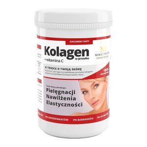 Kolagen + witamina C, proszek, 100 g / (Noble Health)