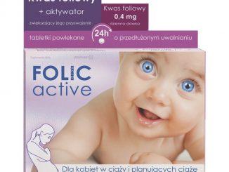 Folic Active, tabletki powlekane o przedłużonym uwalnianiu, 30 szt. / (Uniphar)