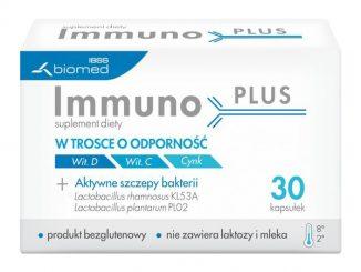 Immuno PLUS, kapsułki, 30 szt. / (Ibss Biomed)