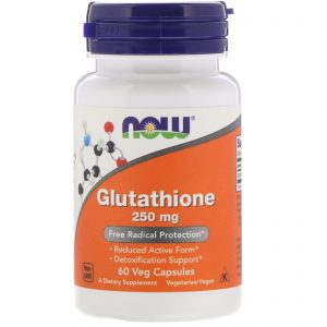 Glutathione, 250 mg, 60 Veg Capsules (Now Foods)