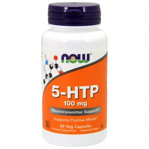5-HTP, 100 mg, 60 Veg Capsules (Now Foods)