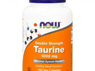Taurine, Double Strength, 1,000 mg, 100 Veg Capsules (Now Foods)