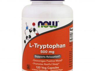 L-Tryptophan, 500 mg, 120 Veg Caps (Now Foods)