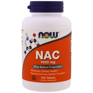 NAC, 1000 mg, 120 Tablets (Now Foods)