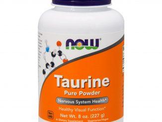 Taurine, Pure Powder, 8 oz (227 g) (Now Foods)
