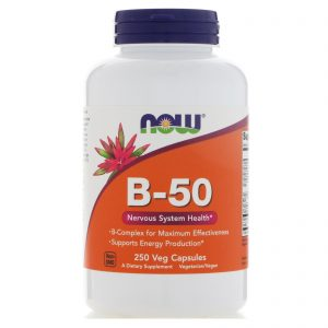 B-50, 250 Veg Capsules (Now Foods)