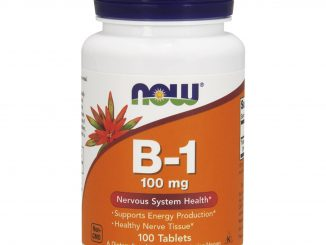 B-1, 100 mg, 100 Tablets (Now Foods)