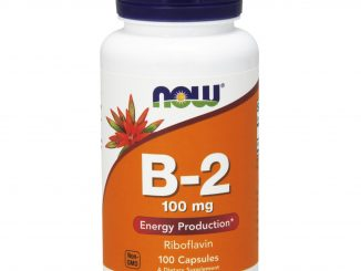 B-2, 100 mg, 100 Capsules (Now Foods)