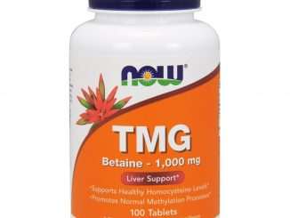 TMG, 1,000 mg, 100 Tablets (Now Foods)