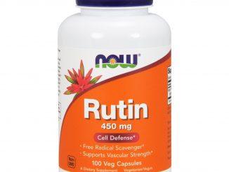 Rutin, 450 mg, 100 Veggie Caps (Now Foods)